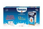 Humana 3 Latte Cartone da 12